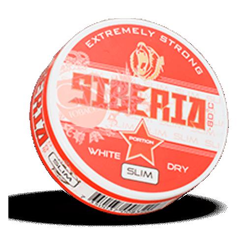 Siberia Slim -80°C Degrees White Dry